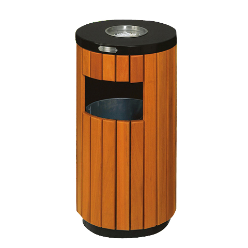 Ashtray Bin Wooden