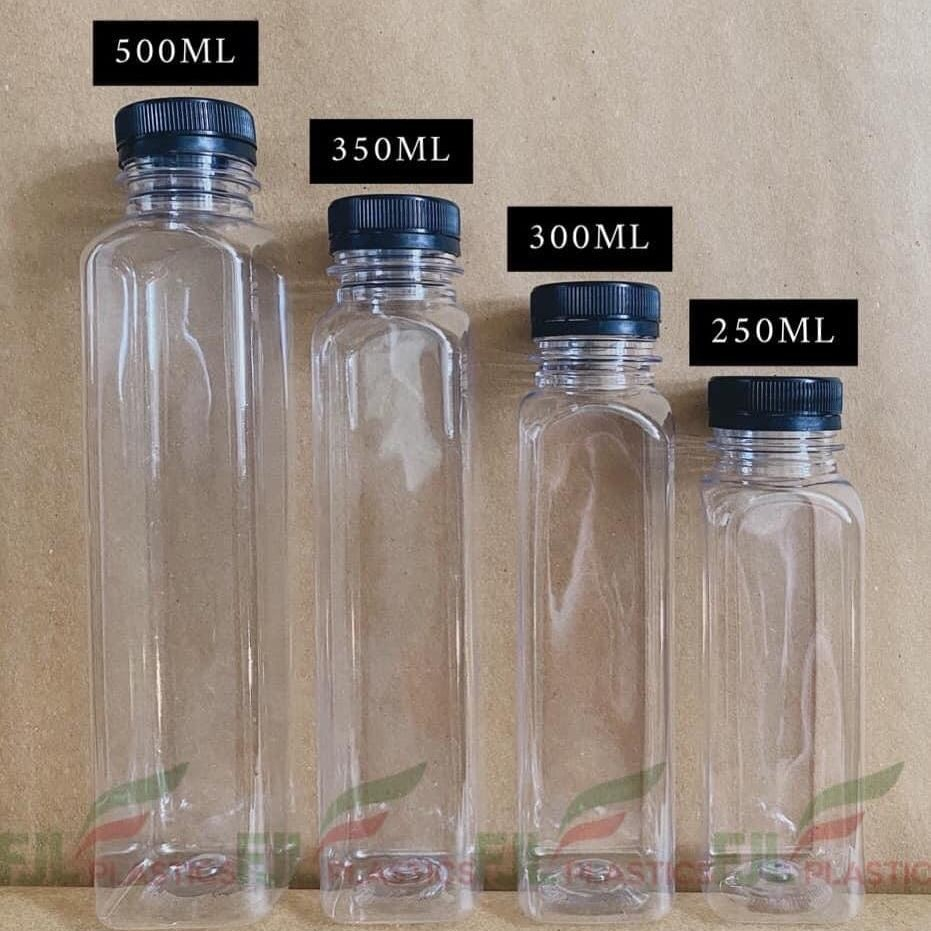 Clear bottle with different size available.  You can order large quantity . We will delivery for free of cost