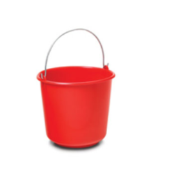 Bucket 5 Ltr red color. Best quality of bucket with attractive price . Different color available