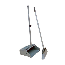 Long Handle Dust Pan with Broom