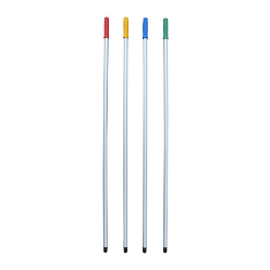 Heavy Duty Aluminum Construction, Light and stainless, it consists of an aluminium tube of 22 mm diameter and presents a thread at its lower end.