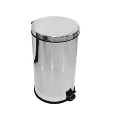 Steel Pedal Bin 20 Ltr Mirror Polish