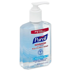 The Purell Advanced Refreshing Gel Hand Sanitizer kills the germs and bacteria without the use of water kills 99.9% germs and ensures the softness of your hands with its triple action moisturizing effect