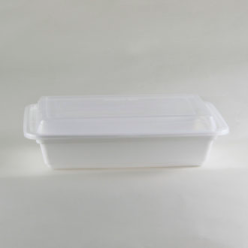 white base container rectangle shape