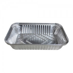 aluminium container rectangle shape