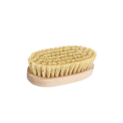 Hard brush without hand Hard bristles will bring your wave out quicker than softer bristles but can be too harsh on the scalp if you've got short or thin hair. This type is also effective at removing tangles and can be used in the shower to help your waves lay down